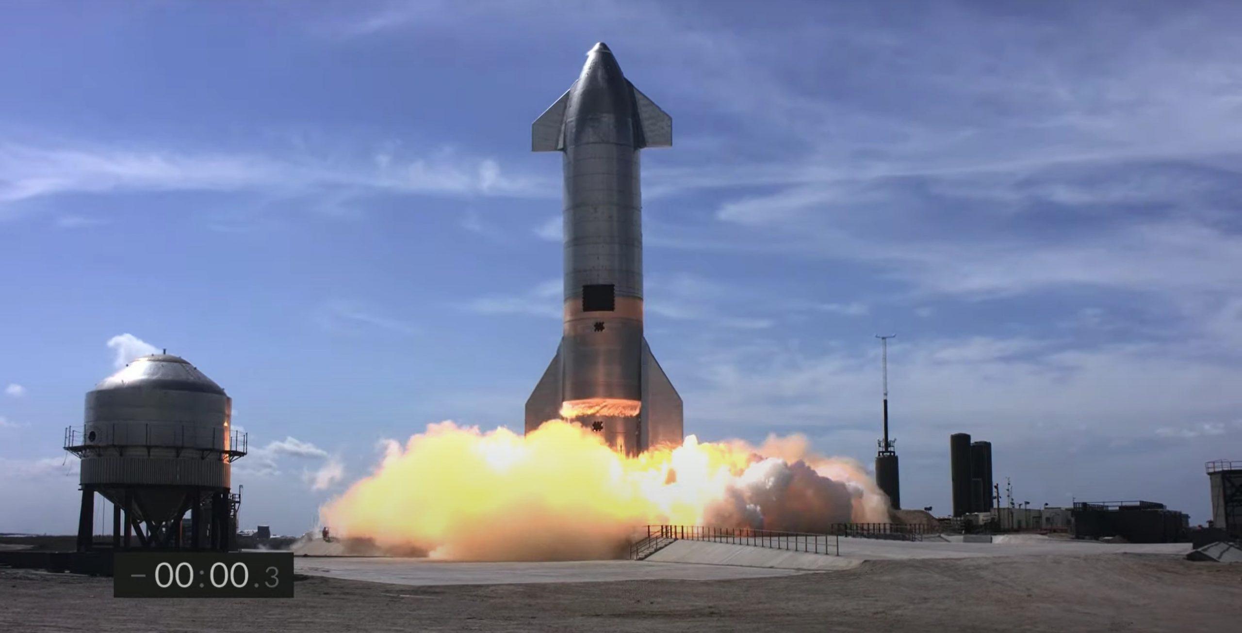 Starship SN10 030221 webcast (SpaceX) abort 2