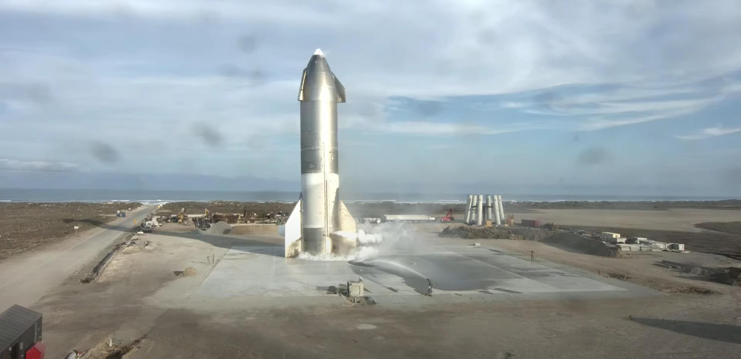 Starship SN10 030221 webcast (SpaceX) launch 7 (c)