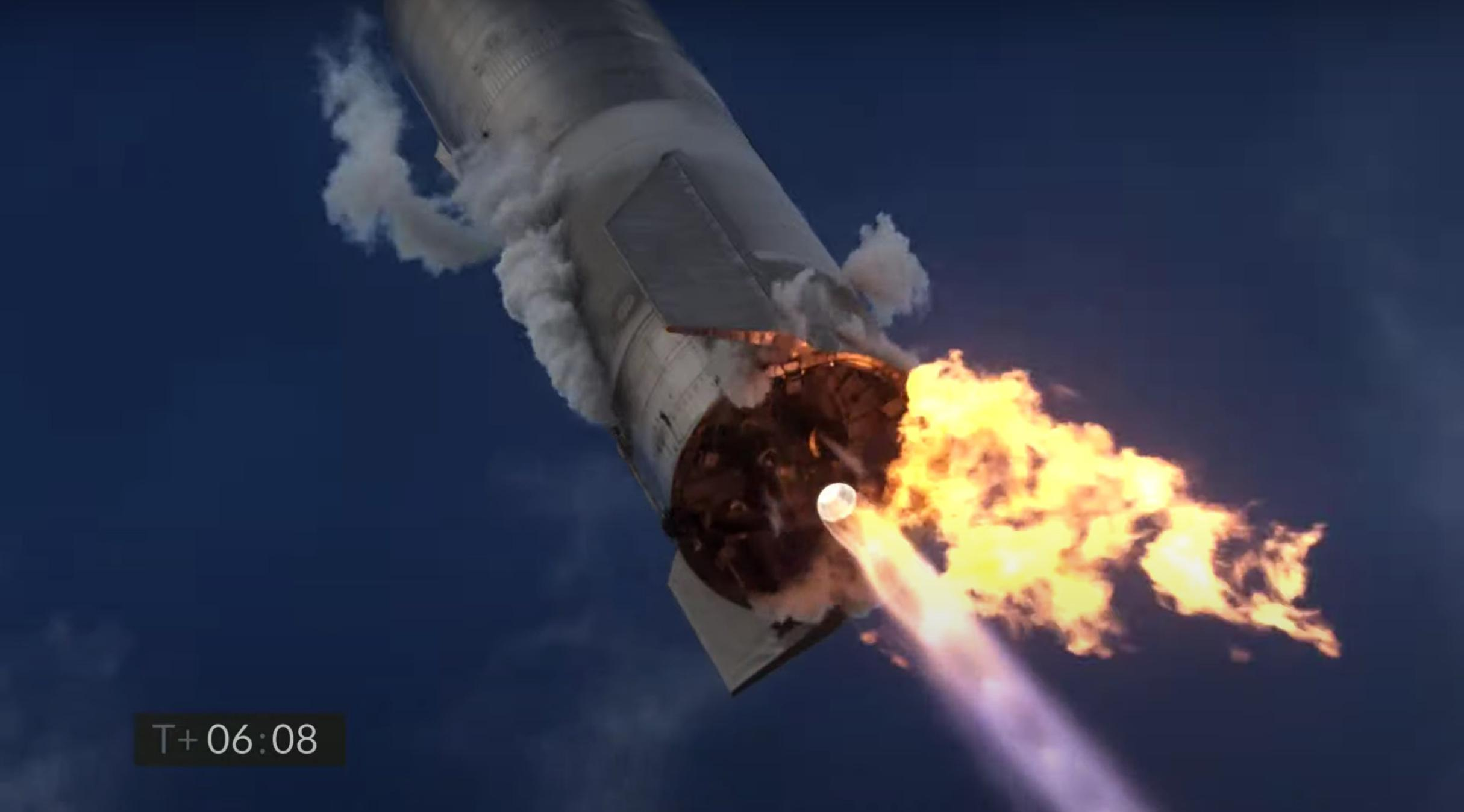 Starship SN10 030221 webcast (SpaceX) launch 9 (c)