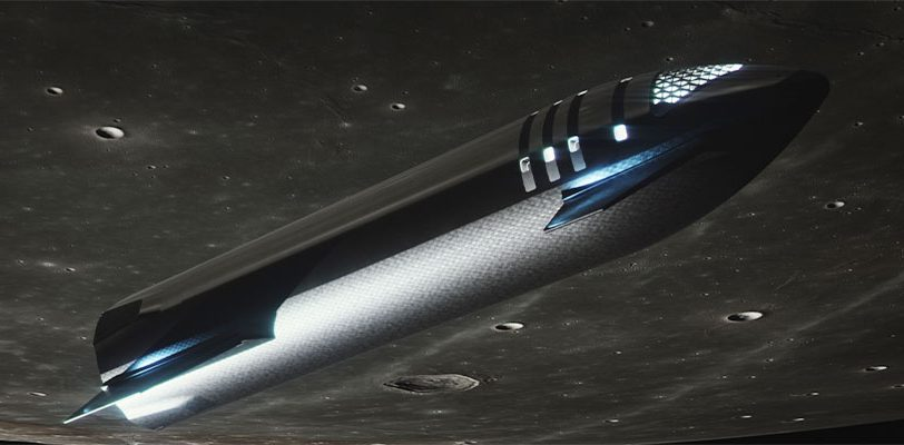 Starship renders 2021 (SpaceX) Moon 2