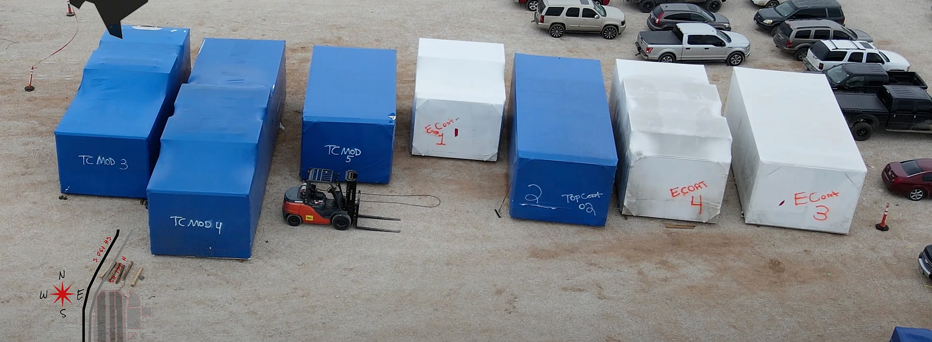 tesla-giga-texas-paint-shop-containers