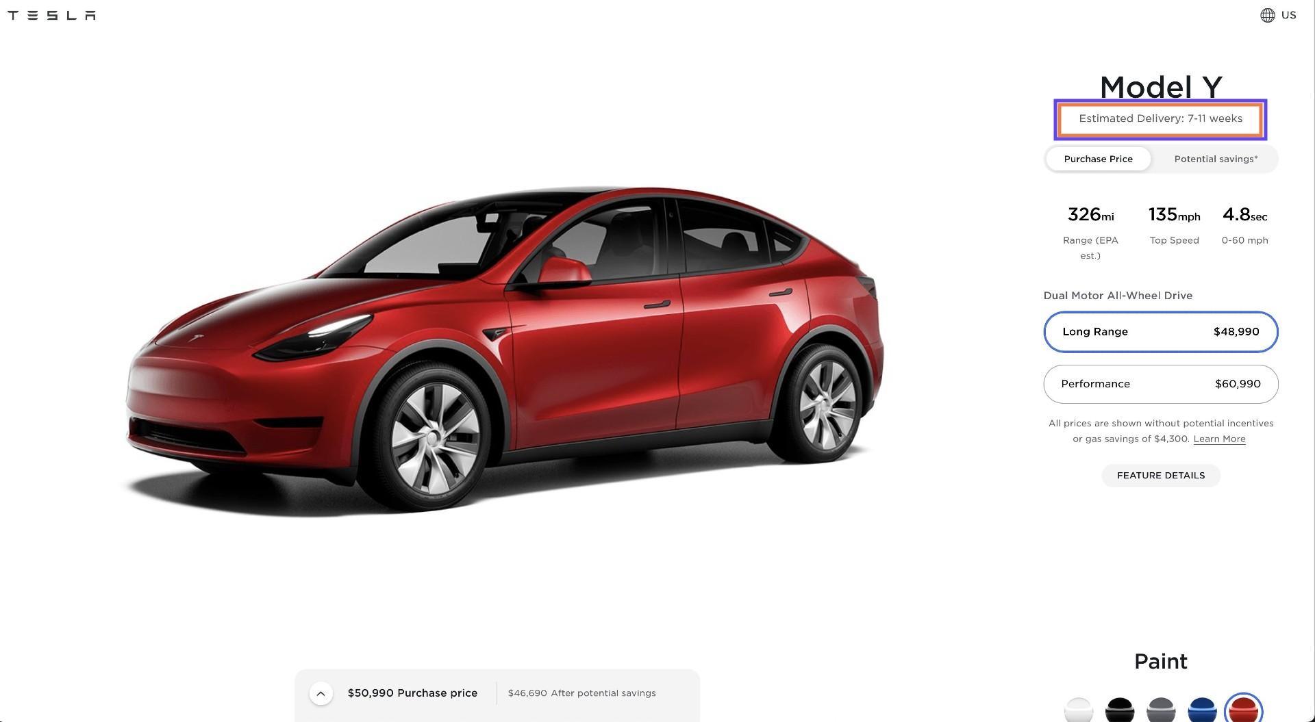 tesla-model-y-delivery-timeframe-march-2021