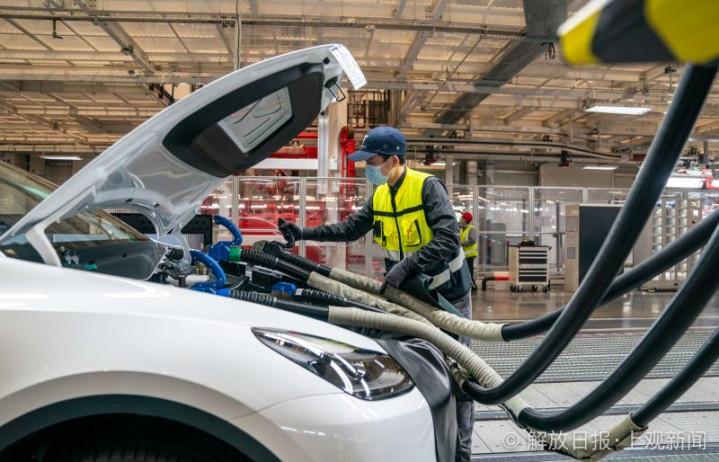 Tesla Giga Shanghai tour shows intense focus on tech and quality control measures