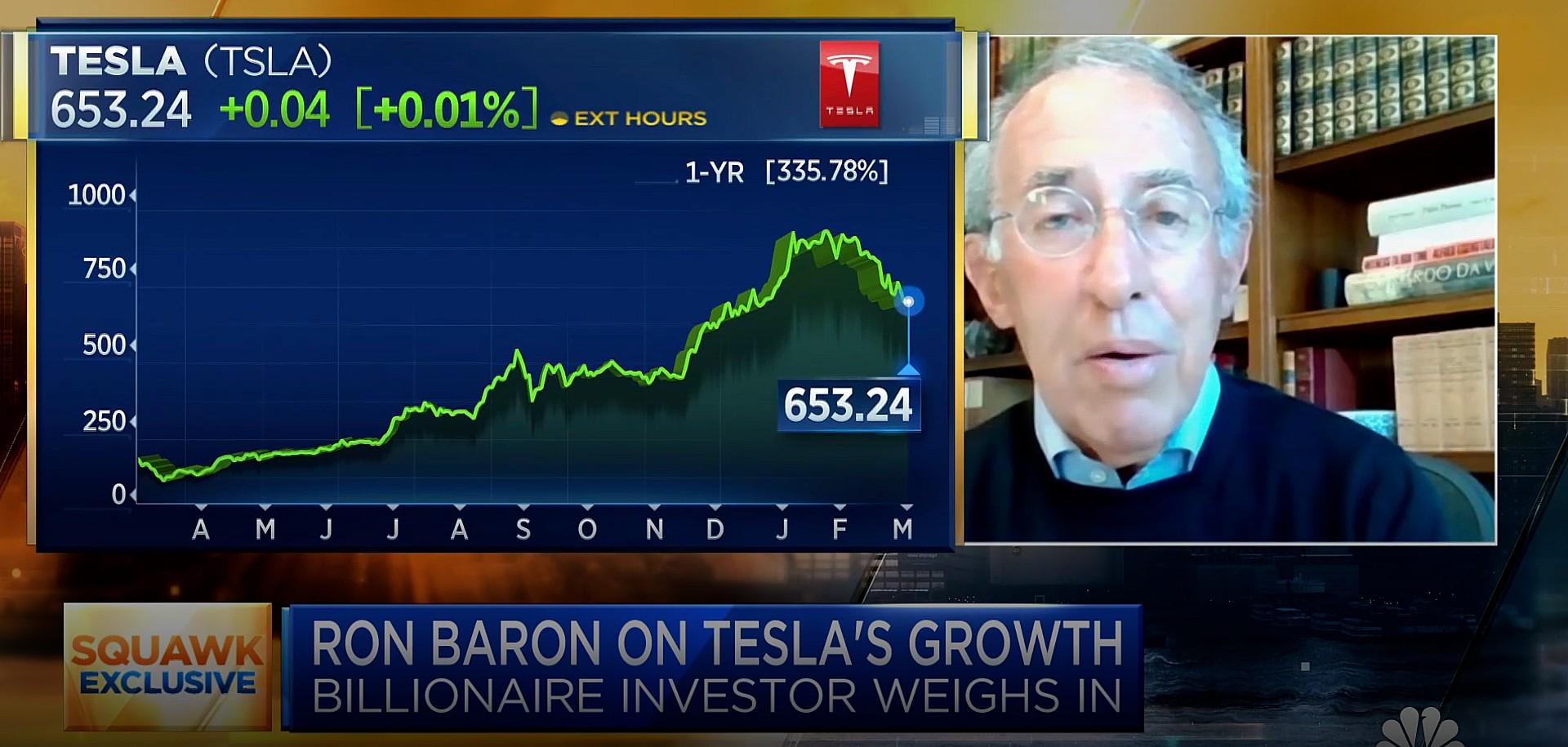 tesla-ron-baron-sells-shares