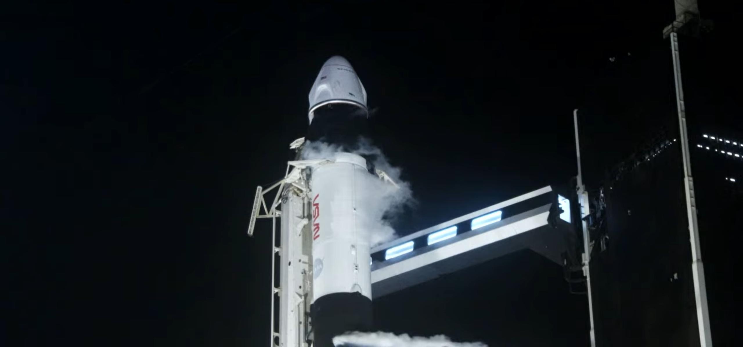 Crew-2 Crew Dragon C206 Falcon 9 B1061 042321 webcast (SpaceX) 13 (c)