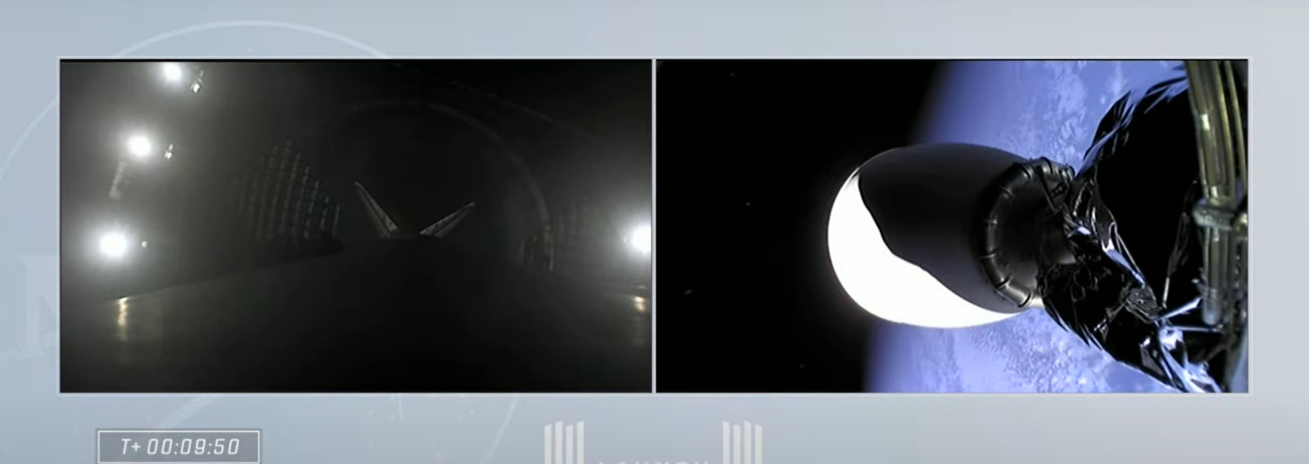 Crew-2 Crew Dragon C206 Falcon 9 B1061 042321 webcast (SpaceX) landing 2 (c)