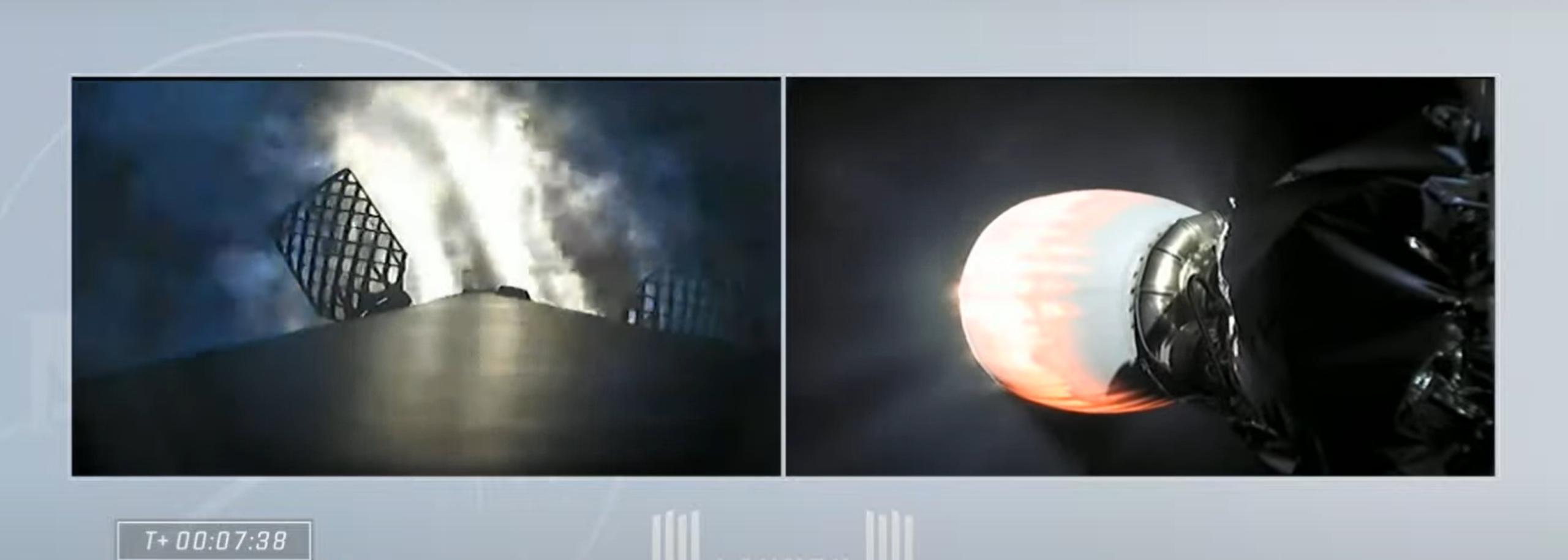 Crew-2 Crew Dragon C206 Falcon 9 B1061 042321 webcast (SpaceX) launch 15 (c)