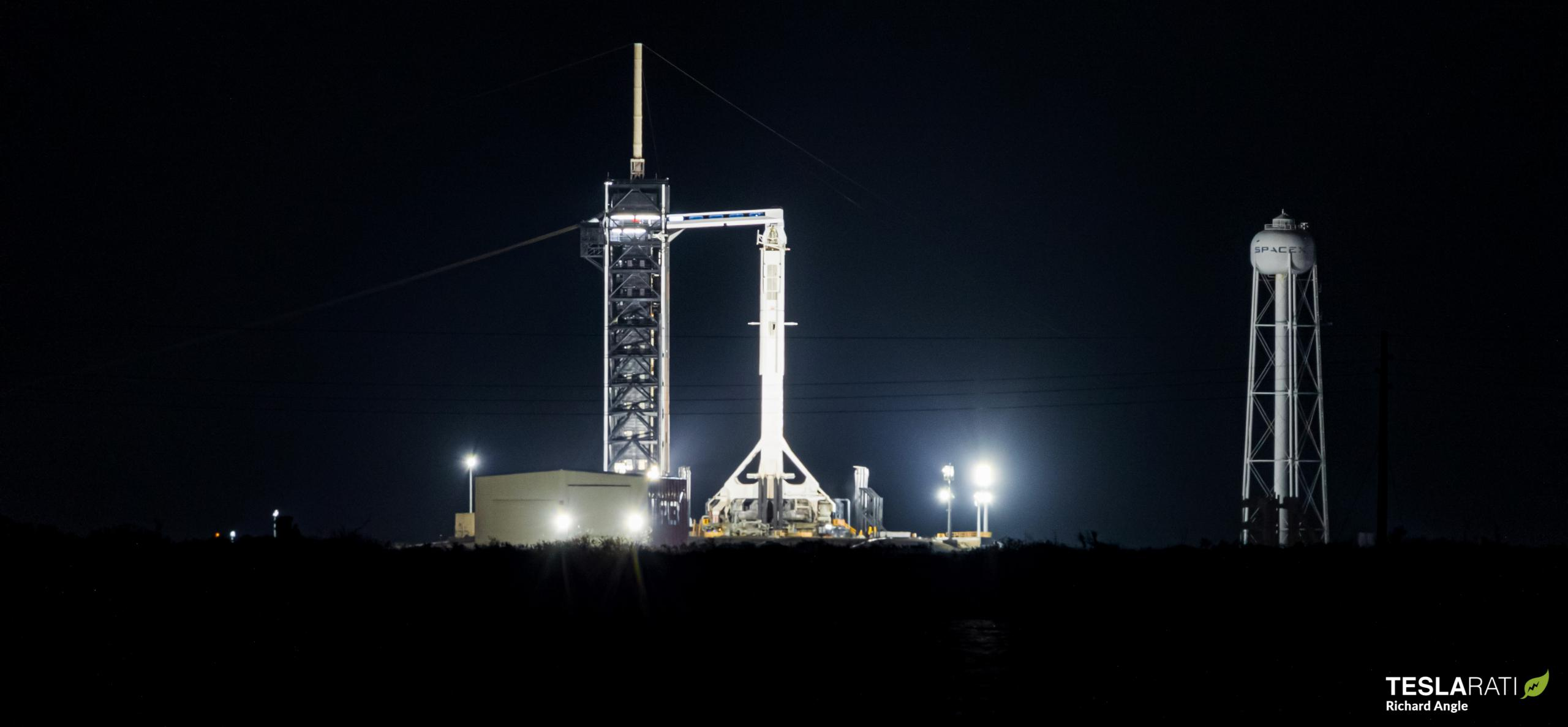 Crew-2 Crew Dragon C206 Falcon 9 B1061 39A 042321 (Richard Angle) prelaunch 1 crop (c)