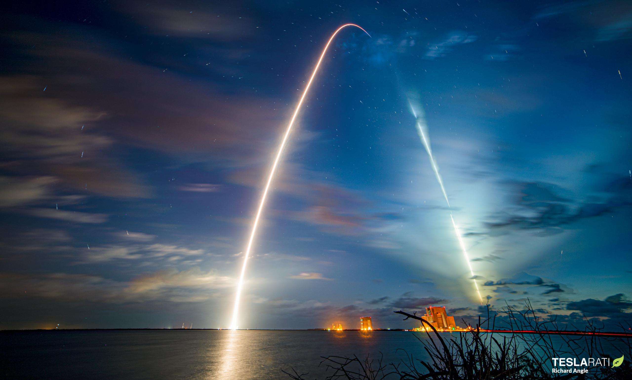 Crew-2 Crew Dragon C206 Falcon 9 B1061 39A 042321 (Richard Angle) streak 1 crop (c)