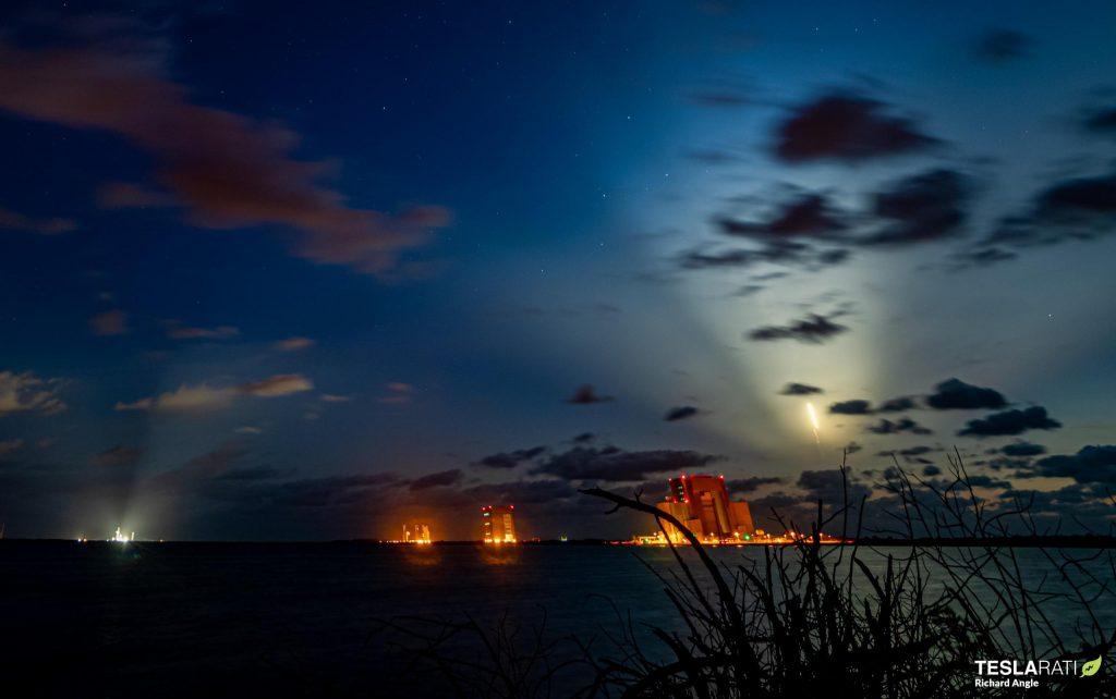 - Crew 2 Crew Dragon C206 Falcon 9 B1061 39A 042321 Richard Angle streak 3 c 1024x642 - Dragon aces third astronaut launch, docks with space station