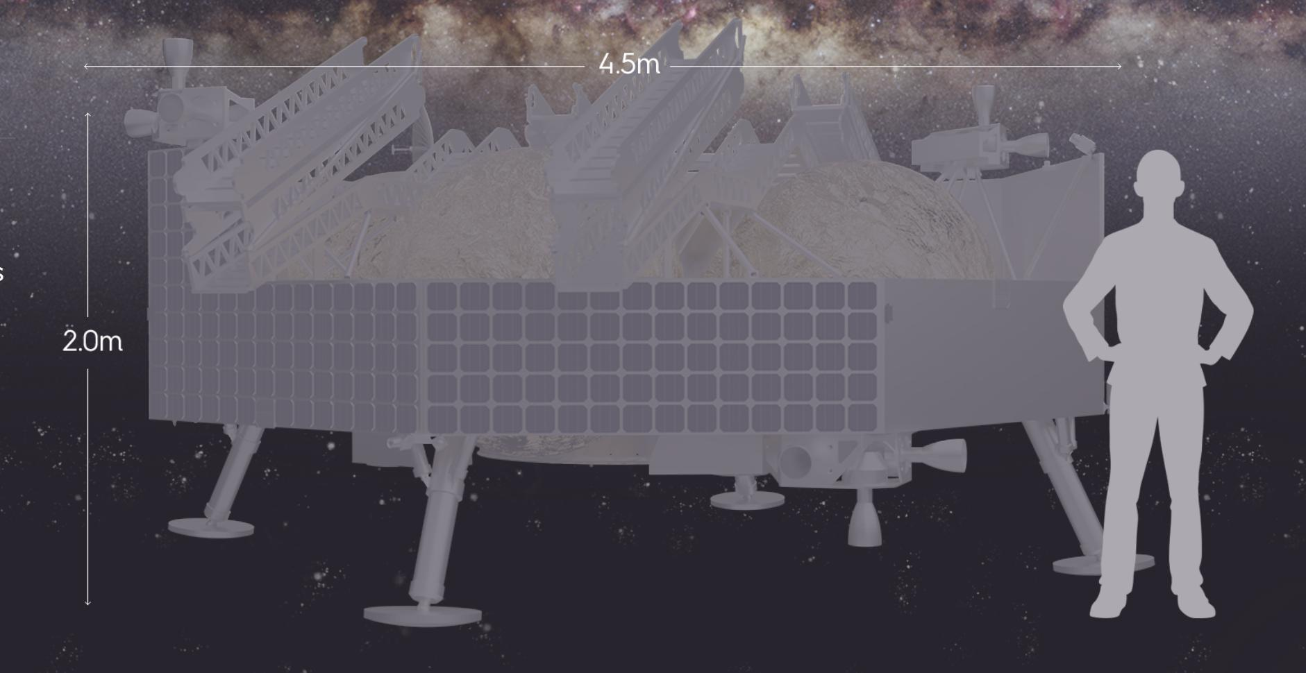 Griffin lander scale (Astrobotic) 1