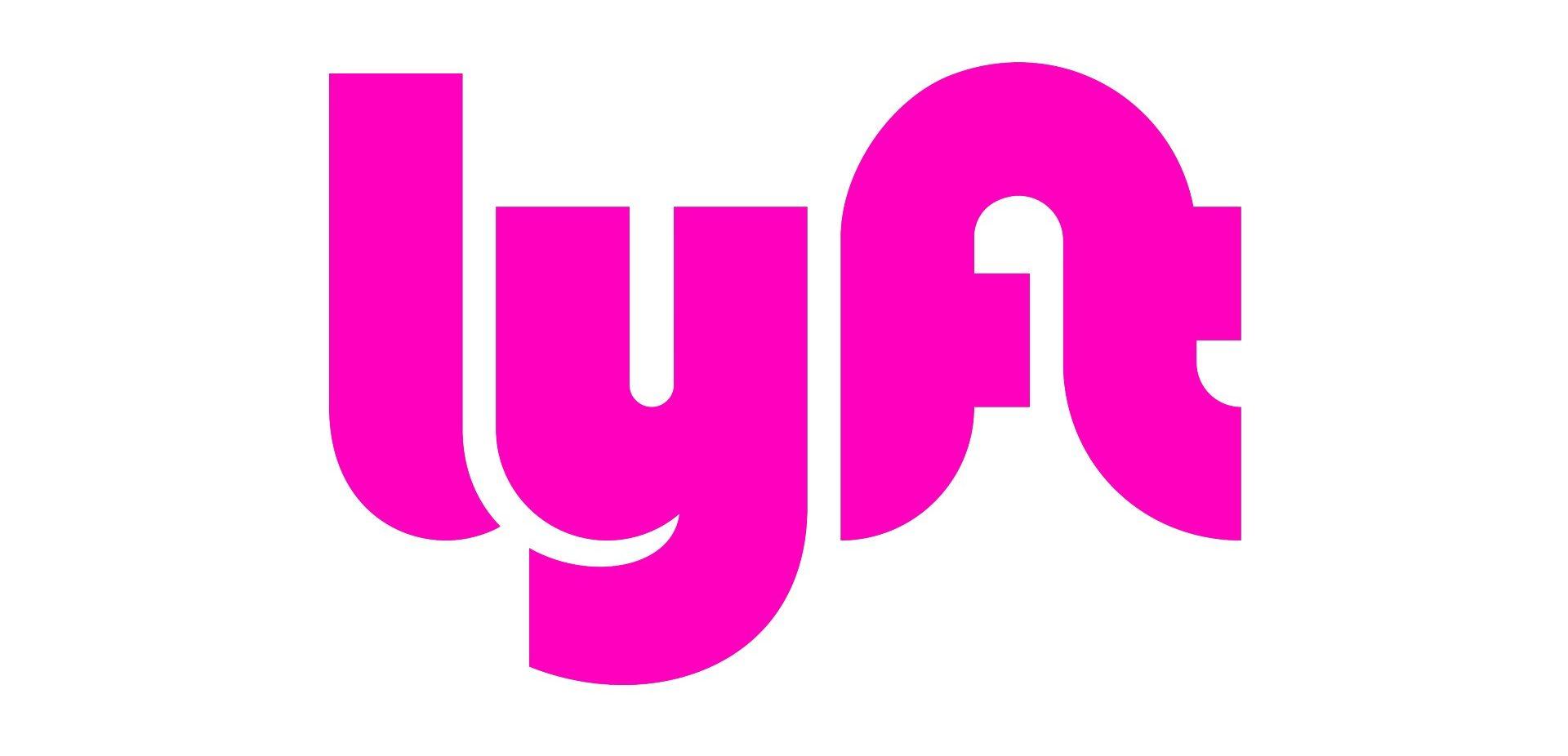 Lyft logo – pink – rgb