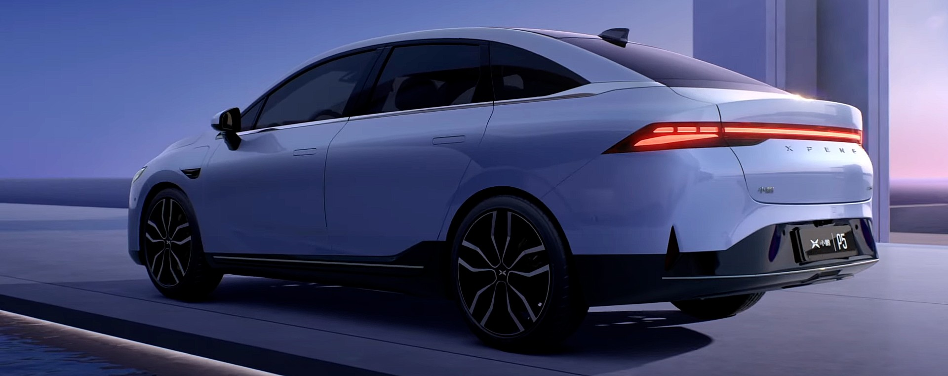 photo of Xpeng reveals new, affordable P5 sedan to compete with Tesla Model 3 image
