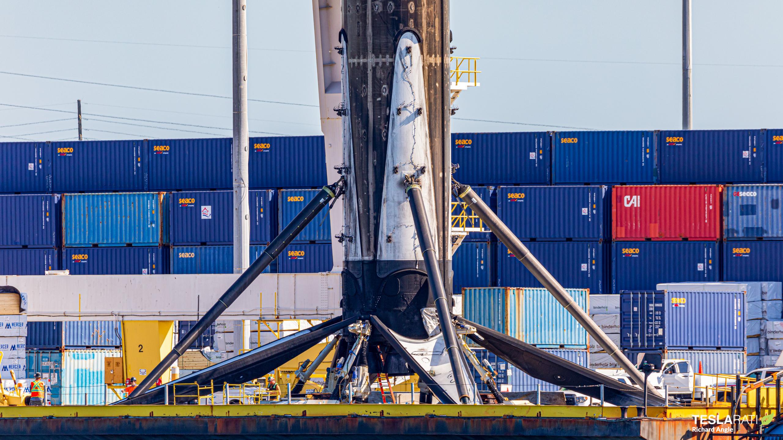 Starlink-25 Falcon 9 B1049 port retun 050921 (Richard Angle) 1 (c)