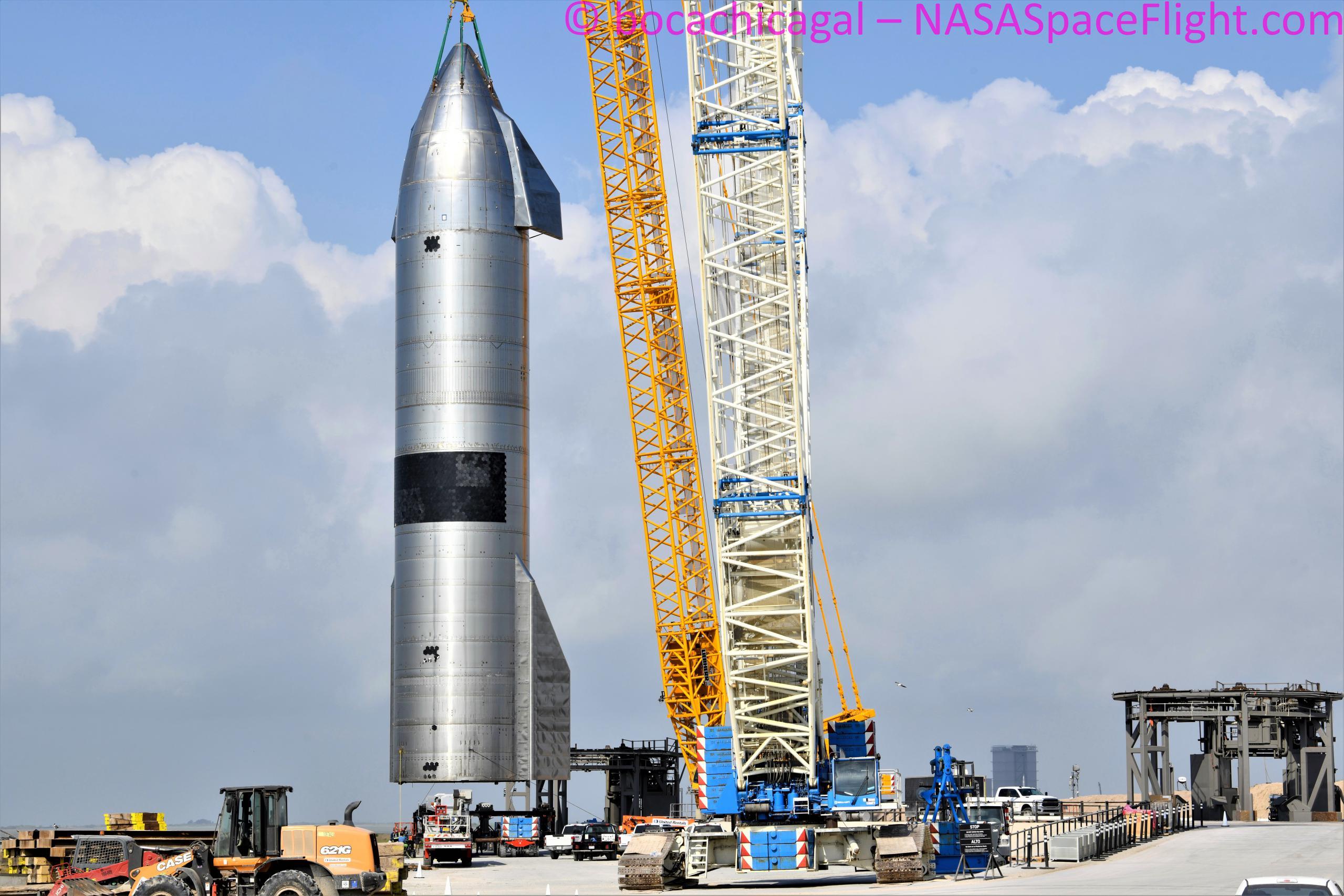 Starship Boca Chica 052621 (NASASpaceflight – bocachicagal) SN15 retirement 2 (c)