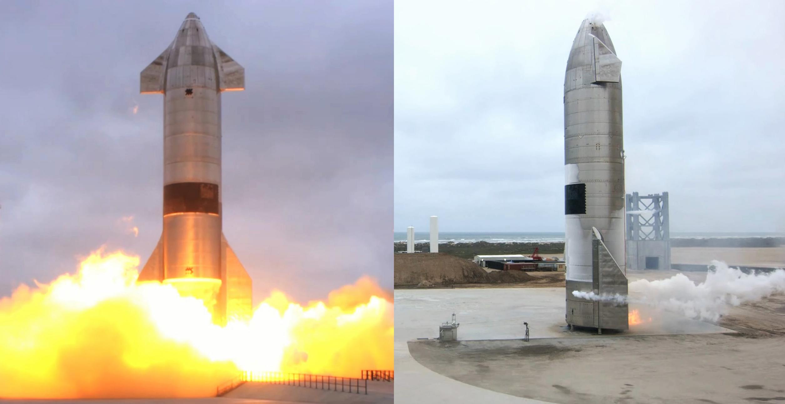 Starship SN15 10km flight test 050521 webcast (SpaceX) launch 1 (c)