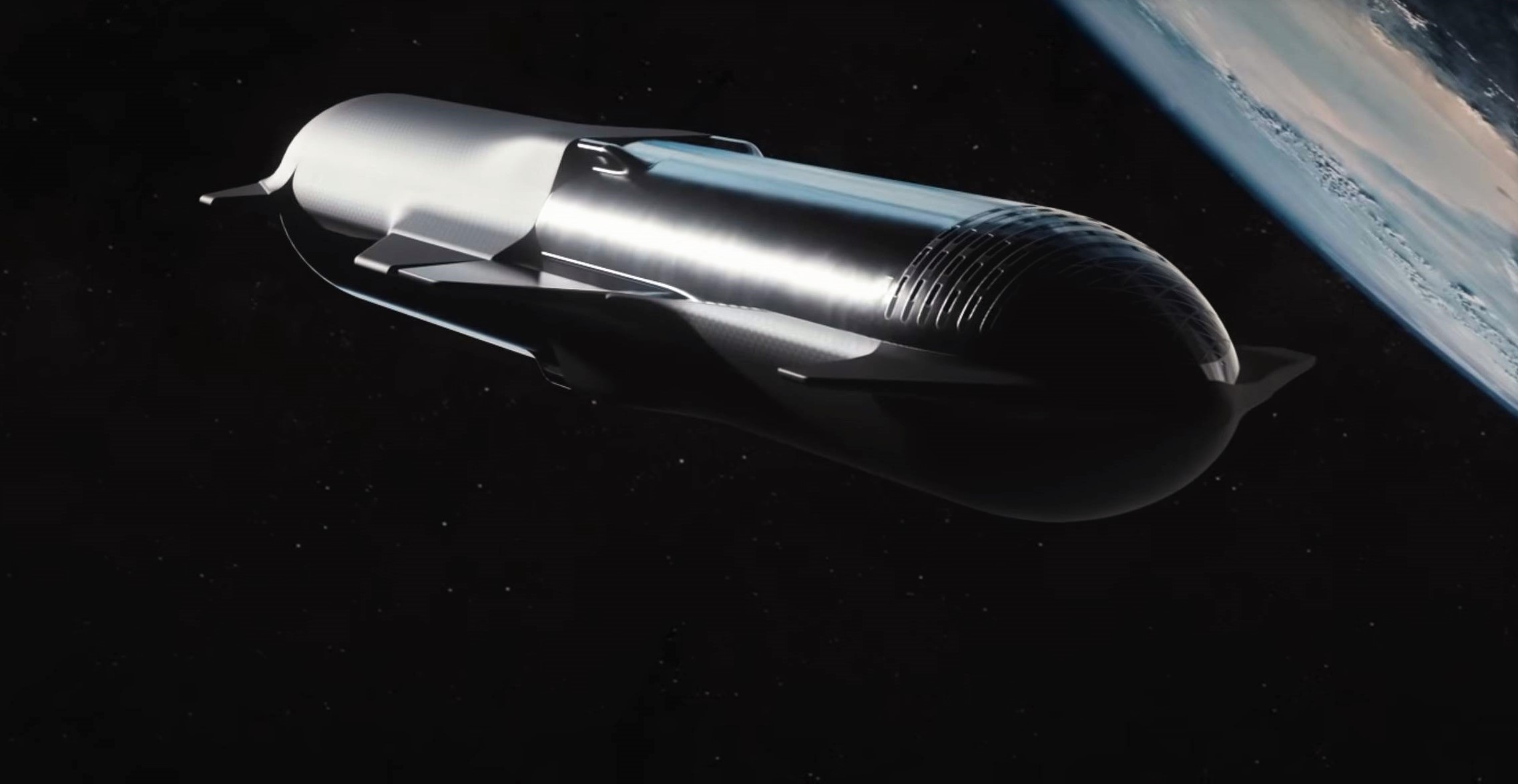 Starship Super Heavy 2019 (SpaceX) refueling 7 crop 2