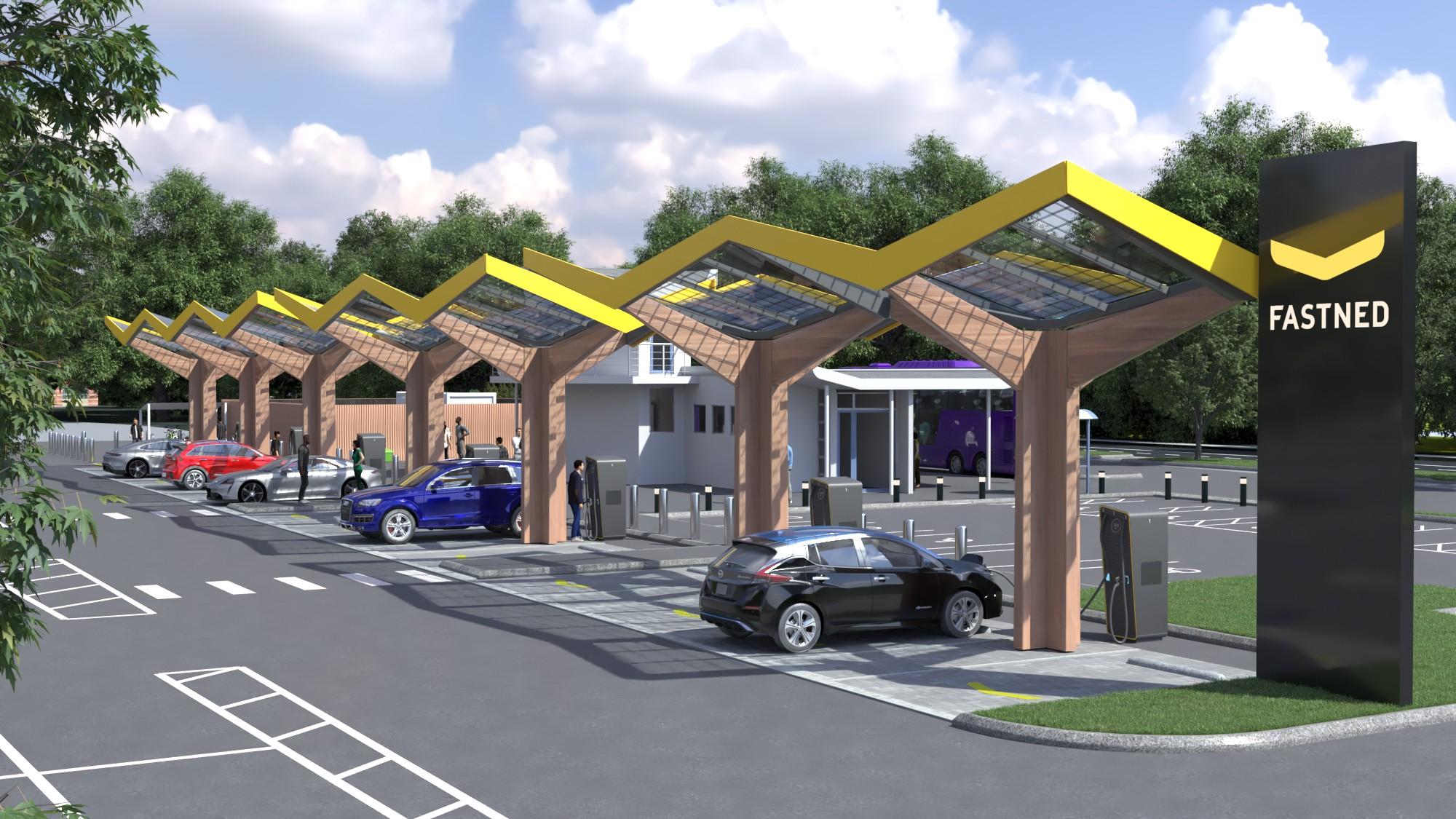 tesla-fastned-charging-station-uk-europe
