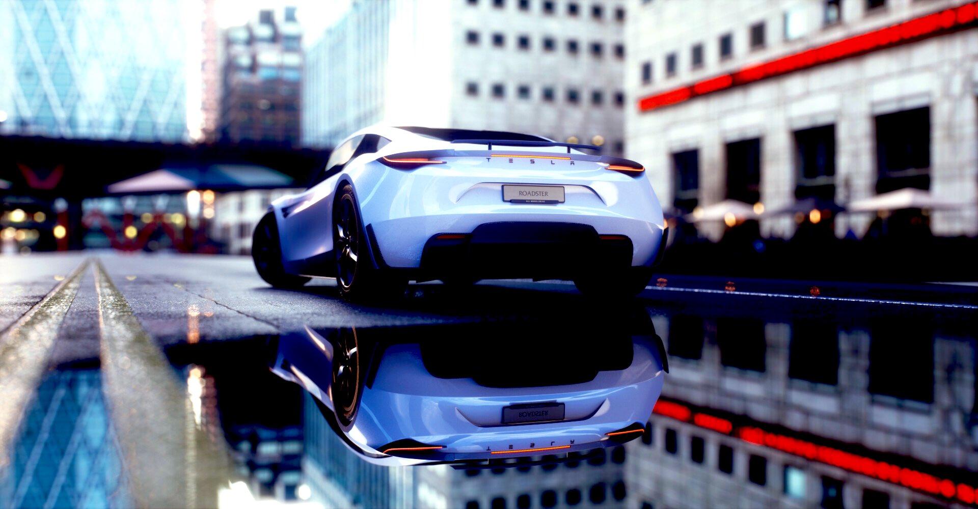 tesla-roadster-city