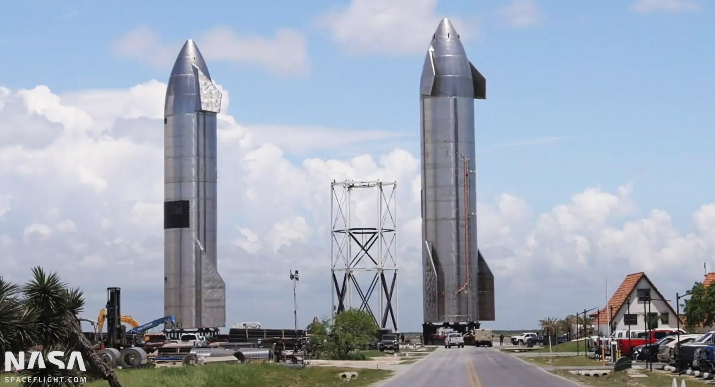 Starship Boca Chica 061621 (NASASpaceflight) SN16 retirement 2