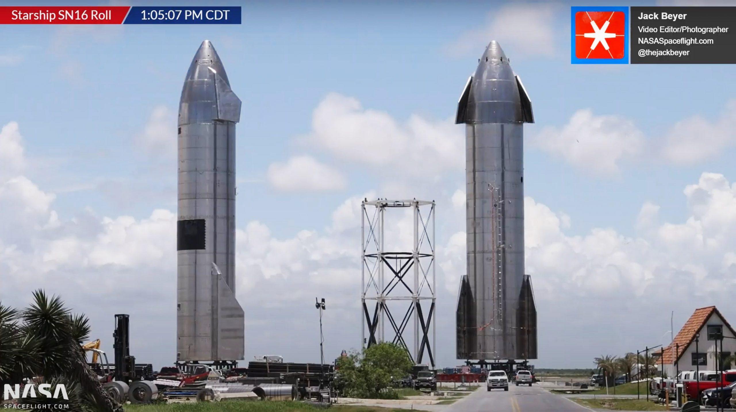 Starship Boca Chica 061621 (NASASpaceflight) SN16 retirement 5