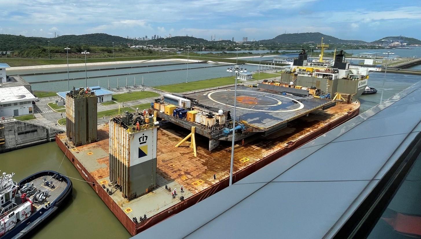 drone ship OCISLY canal transit 062521 (Ilya Marotta) 3 crop
