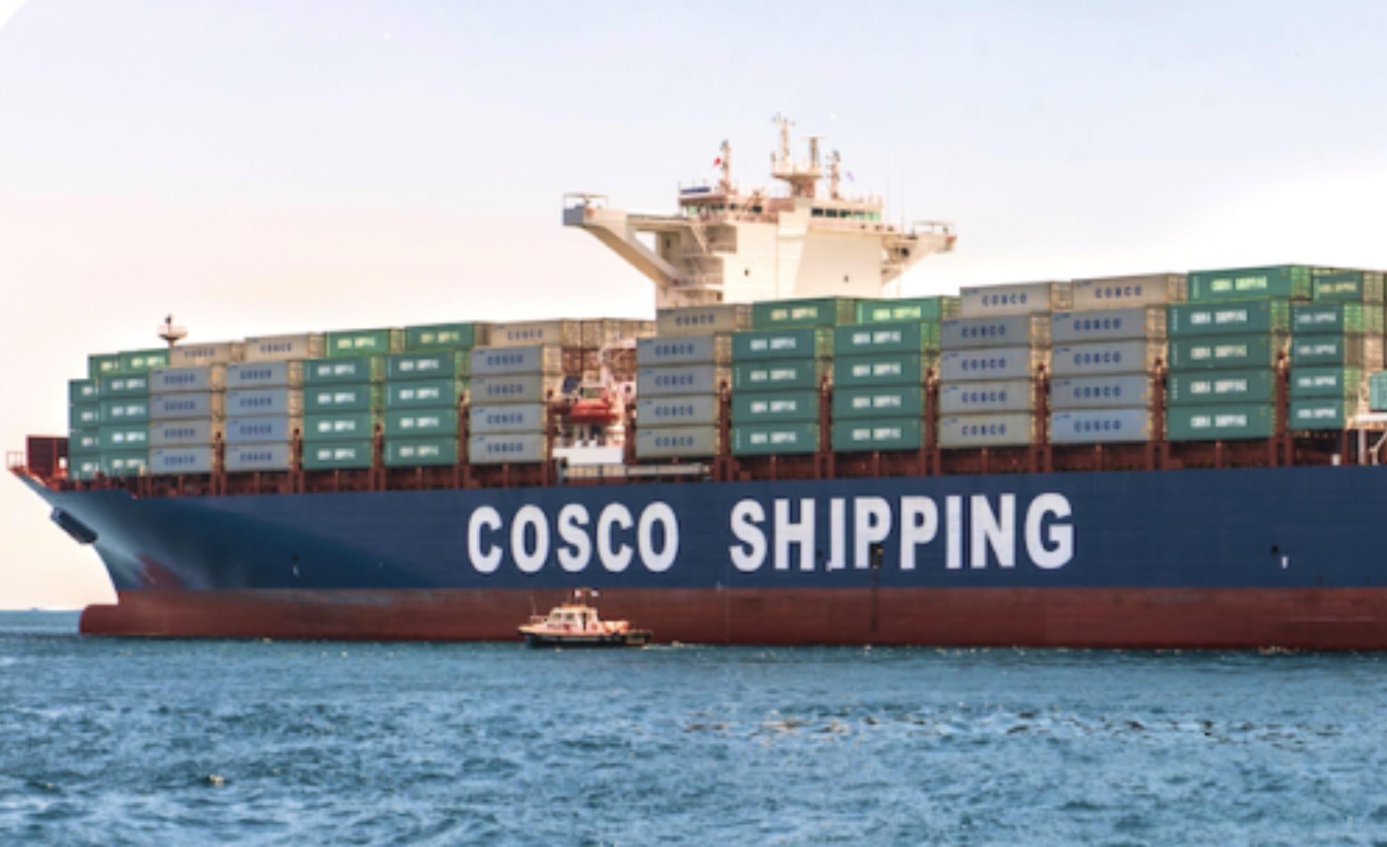 tesla-digitize-Cosco-shipping-data