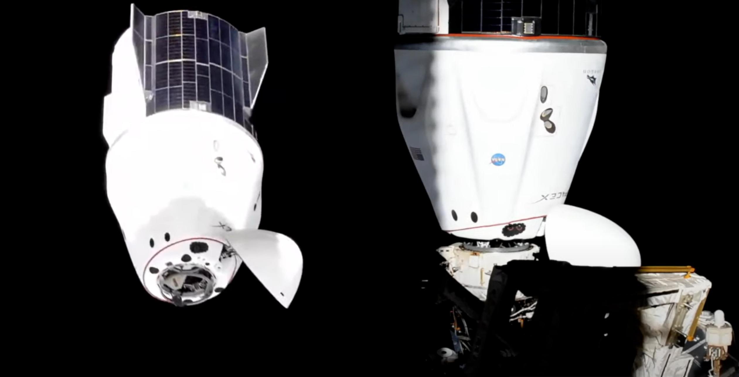Crew-2 Crew Dragon C206 port relocate 072021 (NASA) (c)