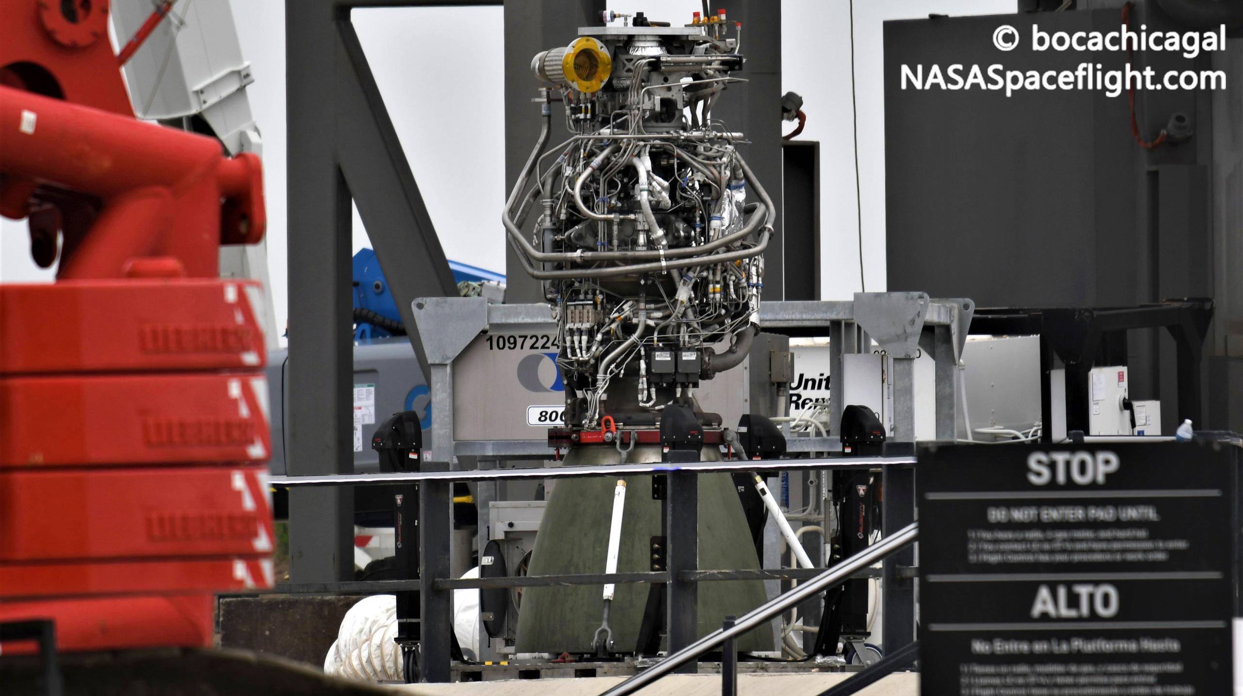 Starship Boca Chica 071121 (NASASpaceflight – bocachicagal) B3 Raptors 1 (c)
