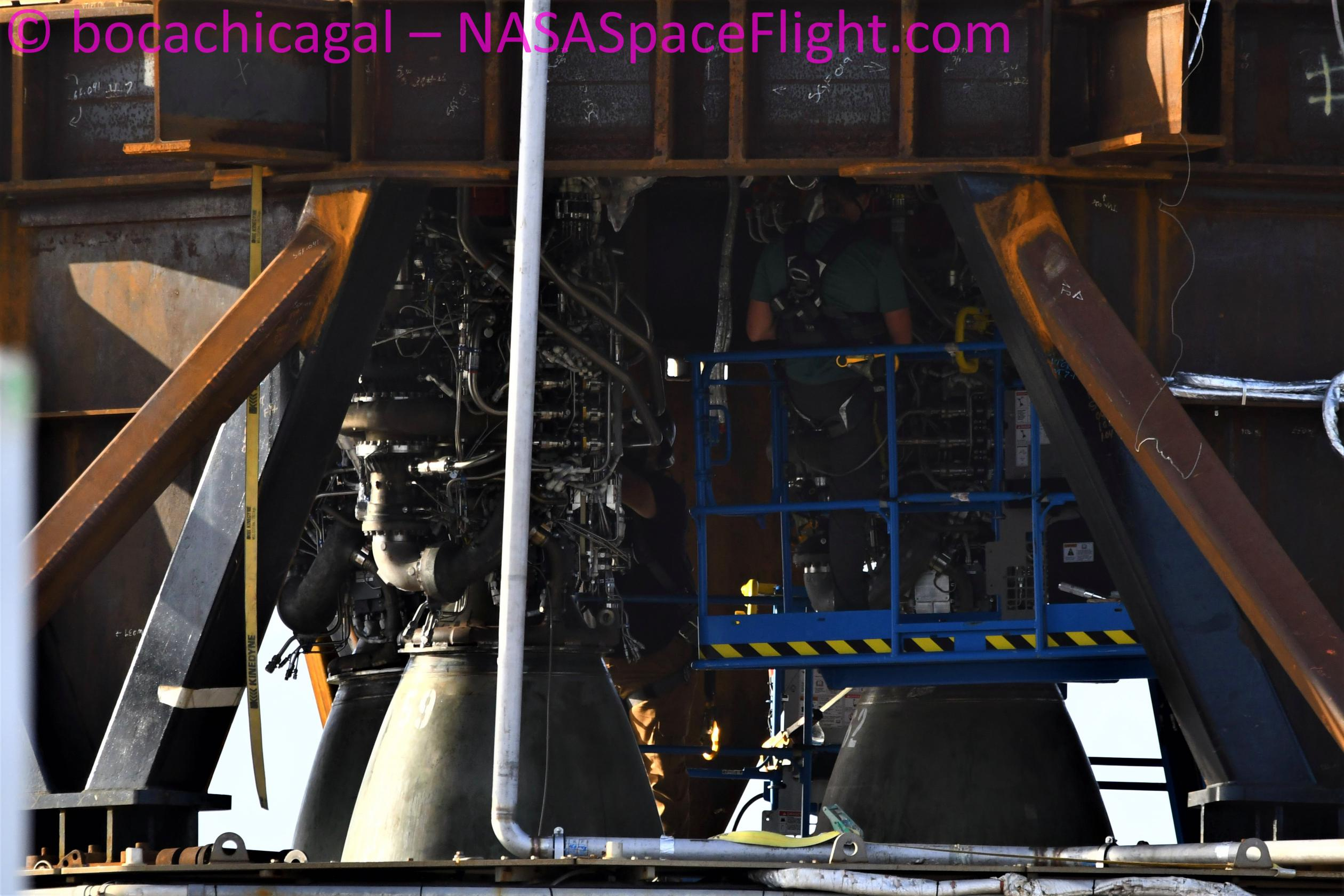 Starship Boca Chica 071321 (NASASpaceflight – bocachicagal) B3 Raptor 57 59 62 1 (c)