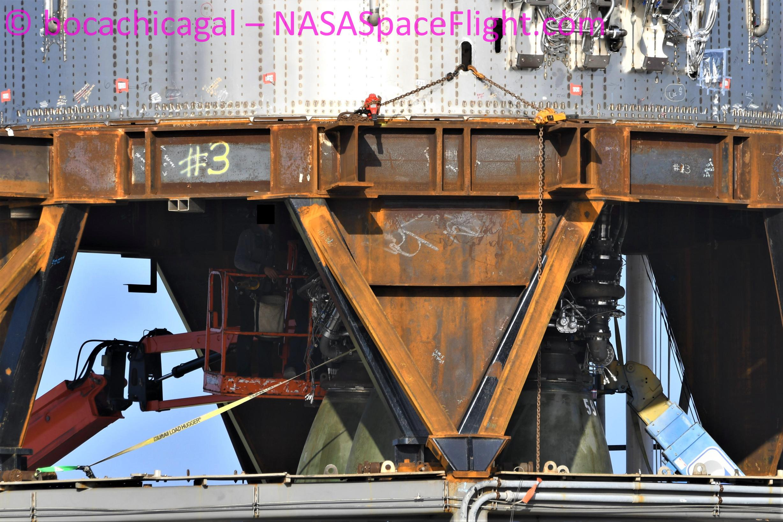 Starship Boca Chica 071321 (NASASpaceflight – bocachicagal) B3 Raptor 57 59 62 2 (c)