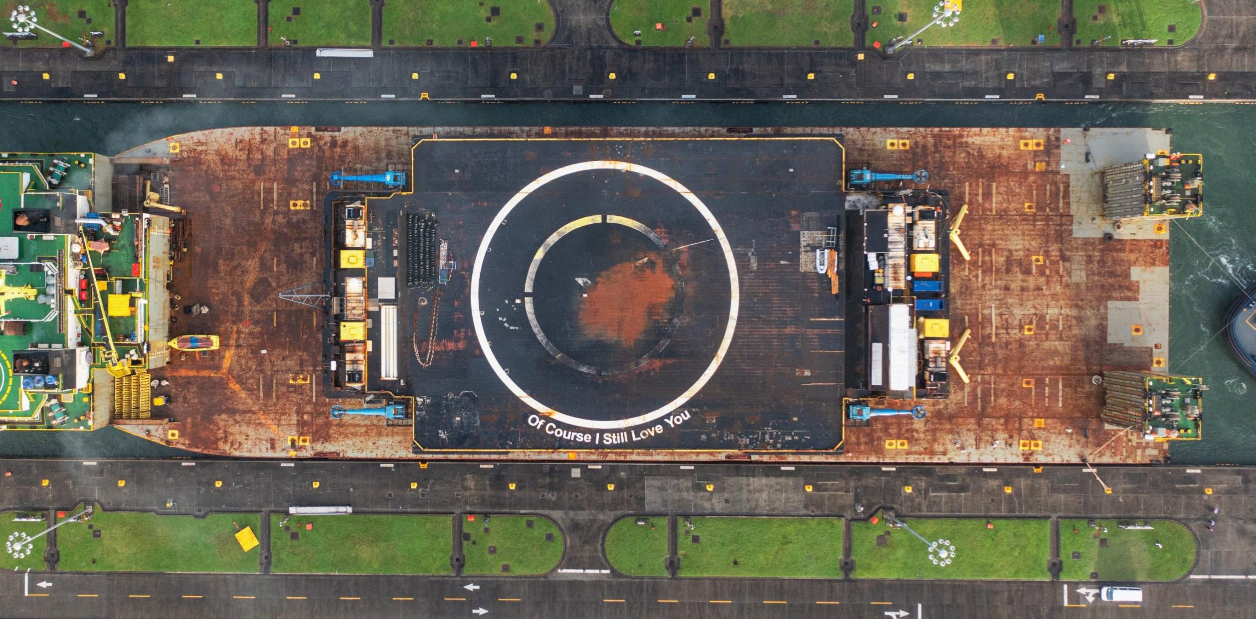 drone ship OCISLY canal transit 062521 (@ThePanamaCanal) 6 crop 3 (c)