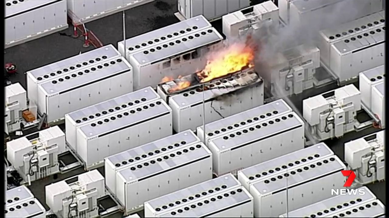 Tesla Megapack battery in Victoria catches fire while testing, no injuries reported