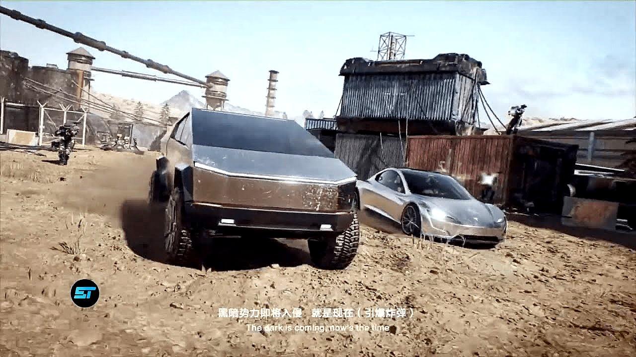 tesla-cybertruck-roadster-trailer