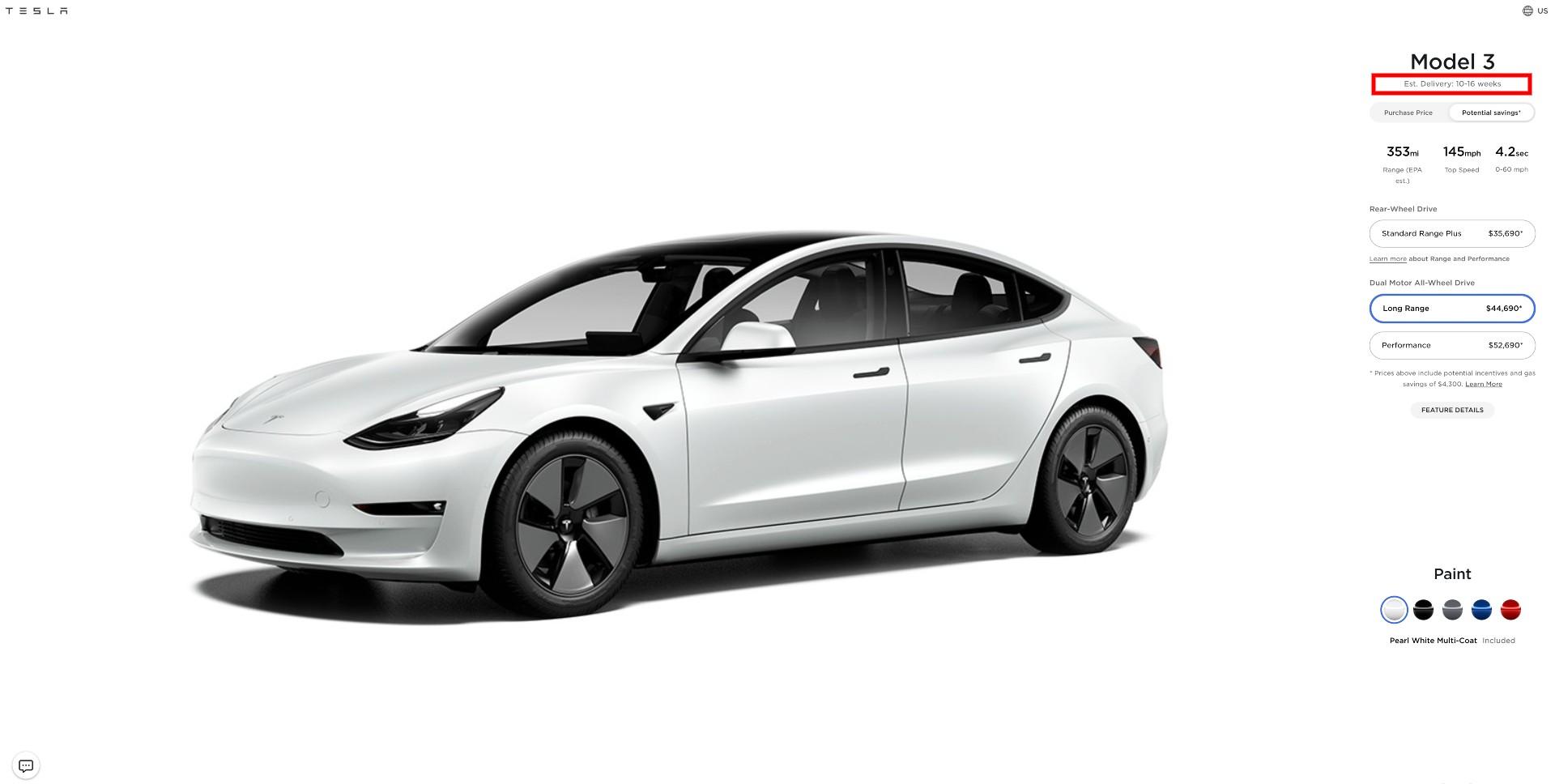 tesla-model-3-long-range-demand-july-2021