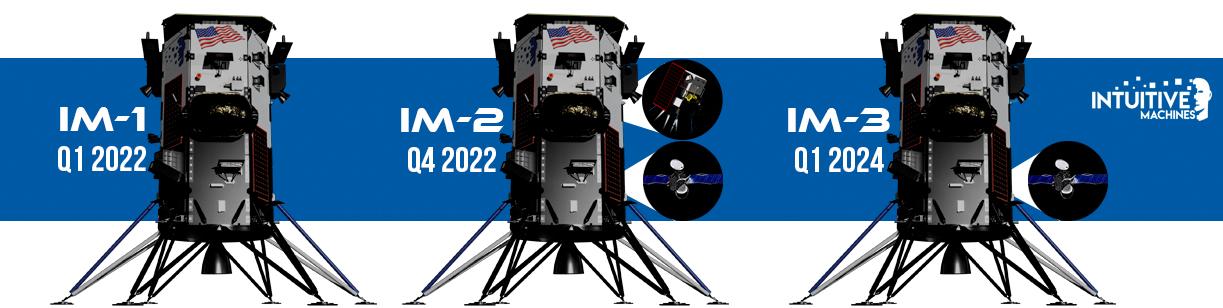 Landers 1-3 (Intuitive Machines) 1