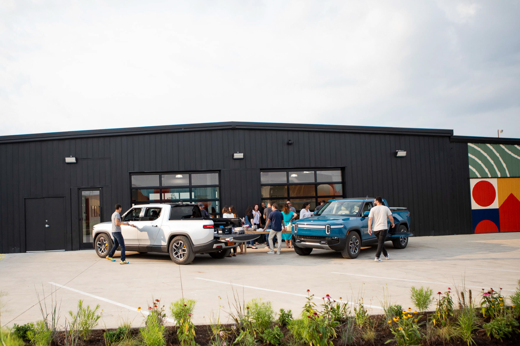 Rivian-delivery-center