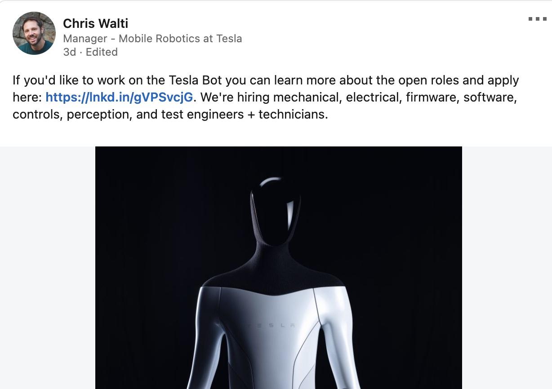 Tesla-bot-new-job-listings-