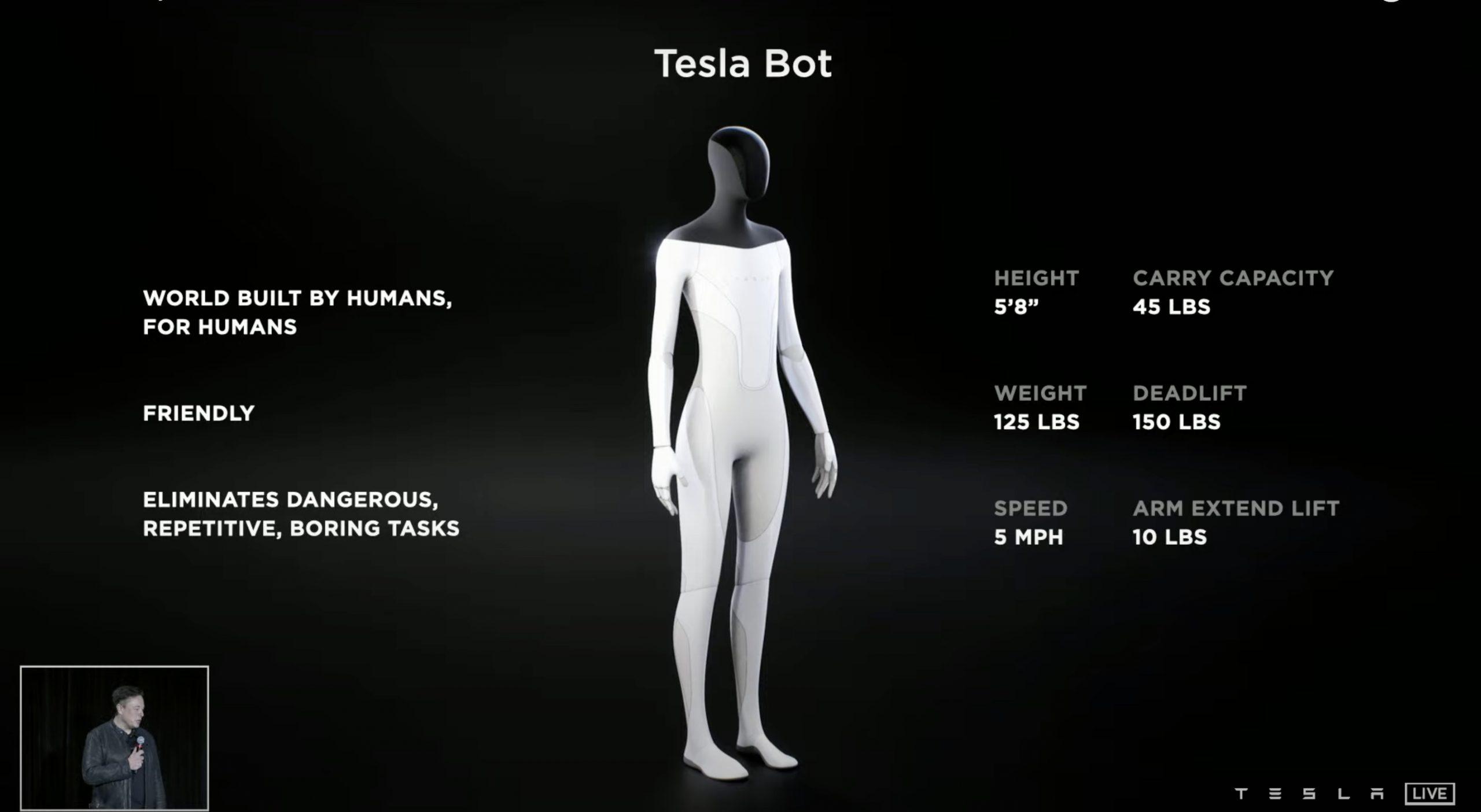 Tesla-bot-with-dojo-chip