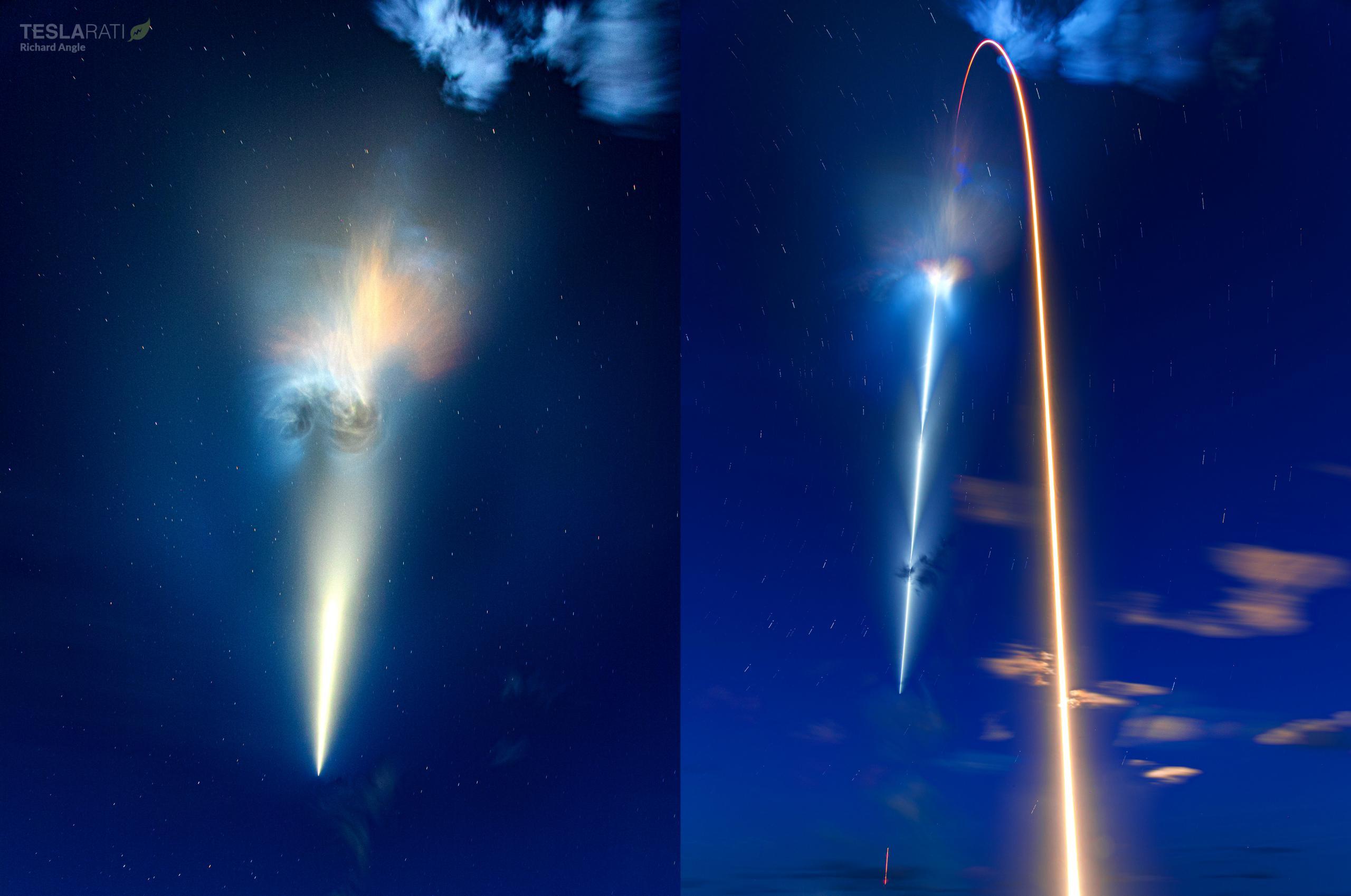Inspiration4 Dragon C207 F9 B1062 39A 091521 (Richard Angle) streak + nebula 1 (c)