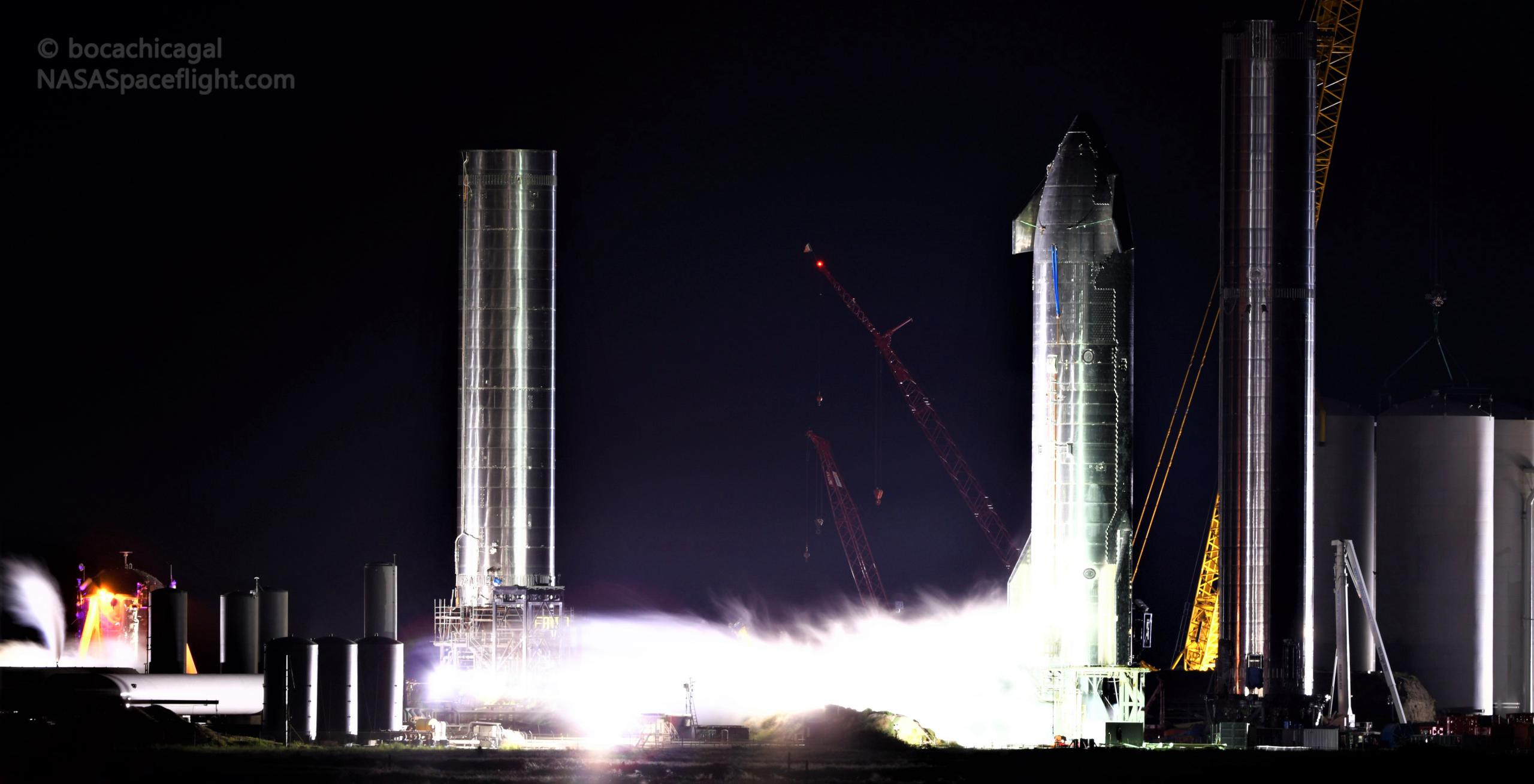 Starbase 092721 (NASASpaceflight – bocachicagal) S20 testing 1 crop (c)