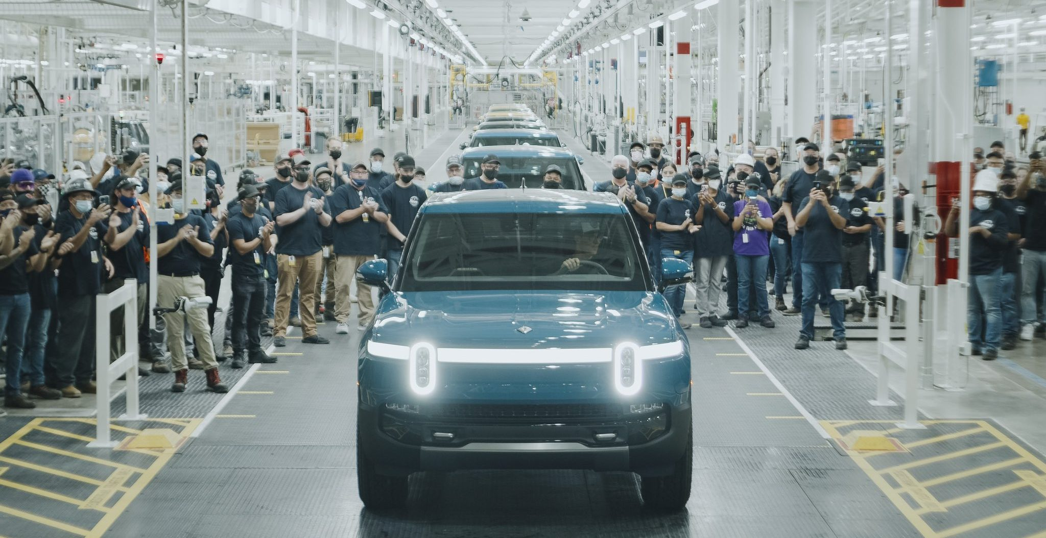 rivian-r1t-first-production-unit