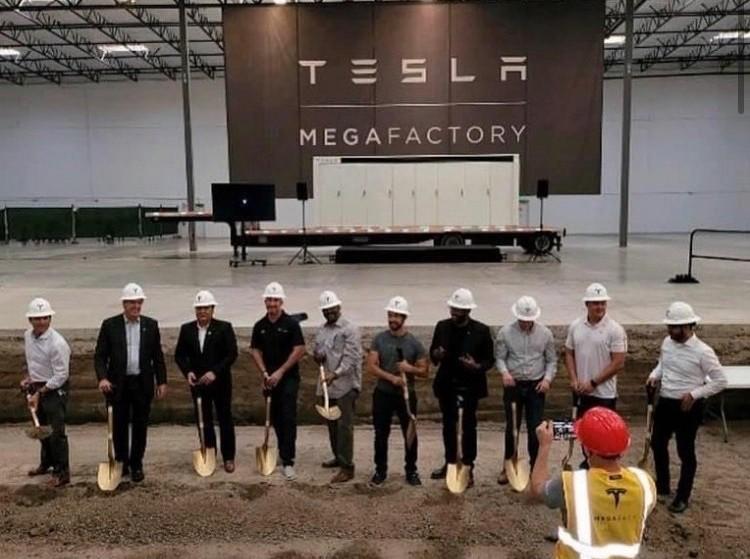 Tesla Megafactory for Megapack production breaks ground in Lathrop, CA