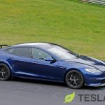 Tesla Model S Plaid returns to Nürburgring with active rear spoiler and 'Track Pack'